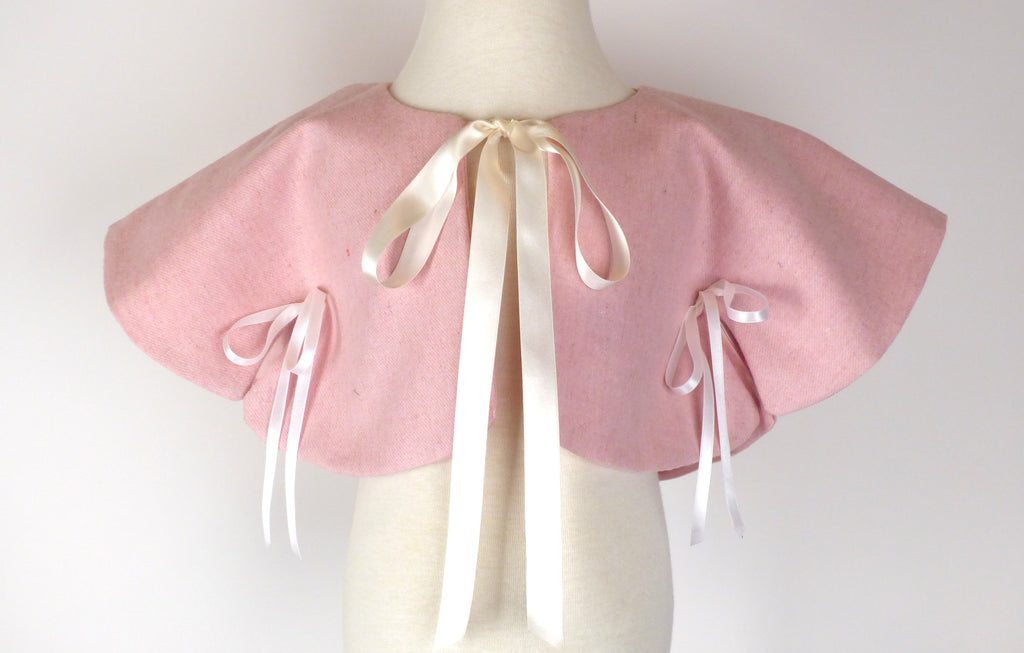 Catesby Capelet in Pink