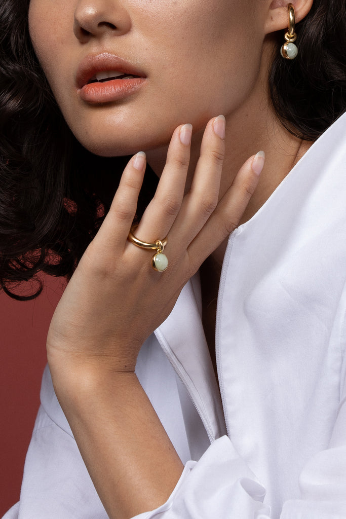 PRE-ORDER Bold Drop Ring