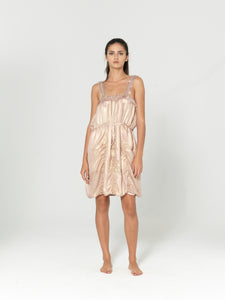 SILK CAMISOLE 'LYSA' DRESS