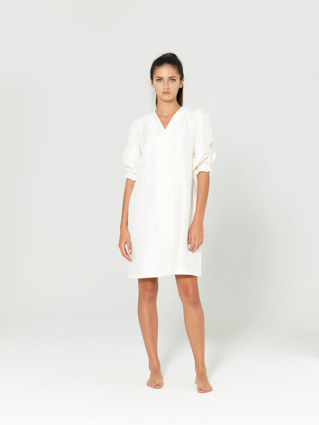 WHITE SHIRT MONICA DRESS