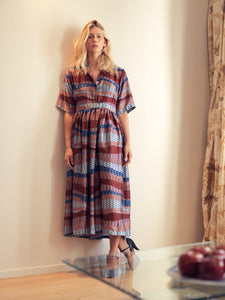 SHIRT DRESS PRINTED