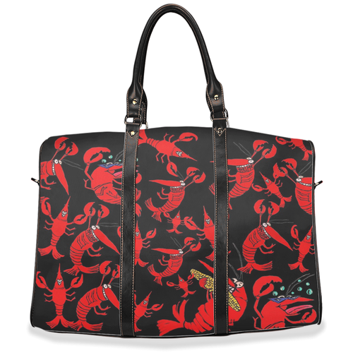 Crawfish/ Crayfish party Travel Bags from my art. - Maremade Designs