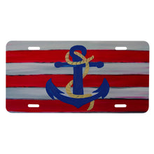 Load image into Gallery viewer, Nautical anchor car mats and coasters - Maremade Designs