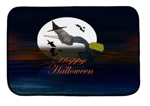 Halloween mermaid witch in the moonlight kitchen decor - Maremade Designs