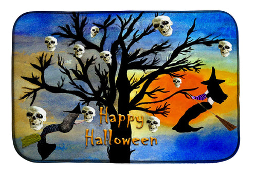 Halloween mermaid witch and skull spooky tree kitchen decor - Maremade Designs