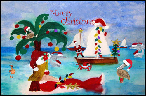 Christmas coastal boat parade - Maremade Designs