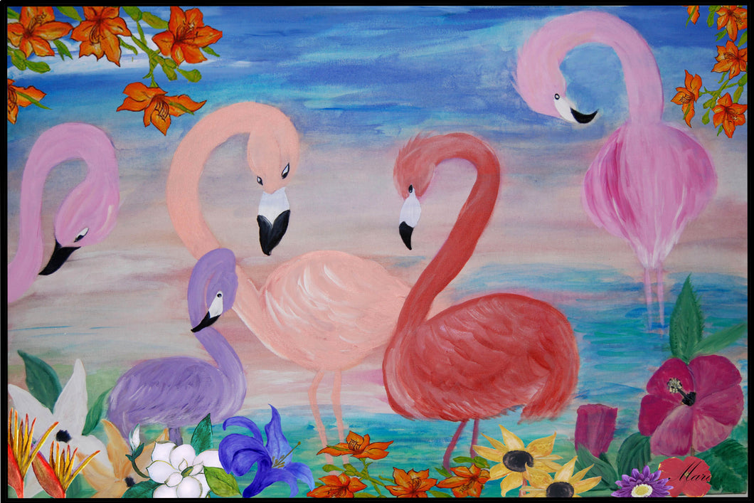 Flamingo garden - Maremade Designs
