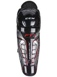 CCM Jetspeed FT1 Youth Shin Guards