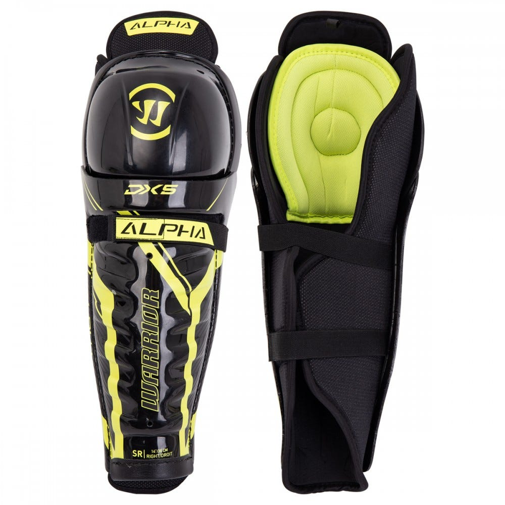 Warrior Alpha DX5 Shin Guards