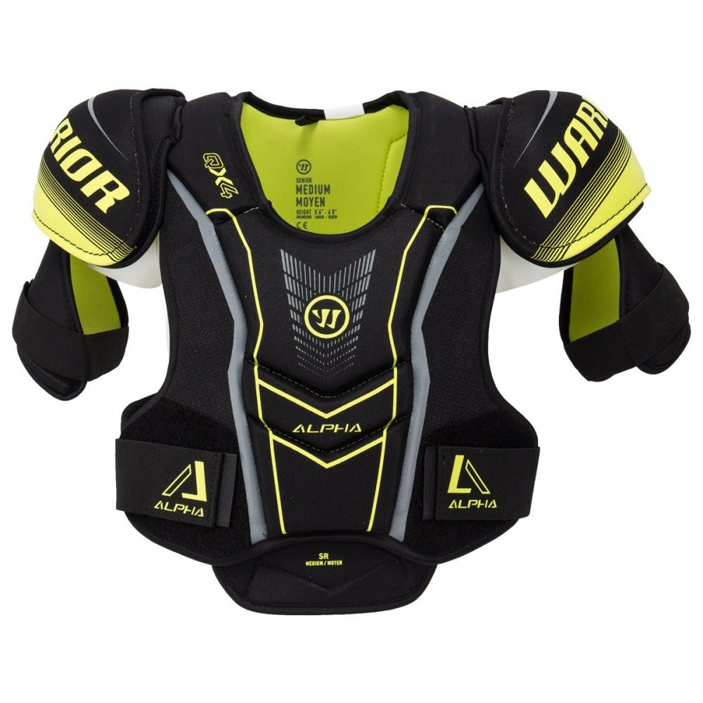 Warrior Alpha QX4 Senior Shoulder Pads