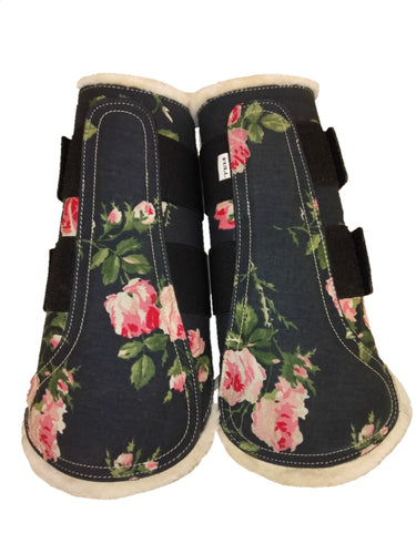 CLEARANCE SALE! Brushing Boots Floral
