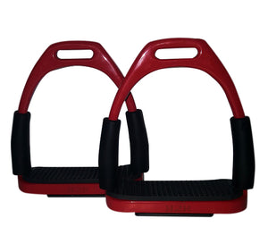 CLEARANCE PRICE! Flexi Stirrups Red