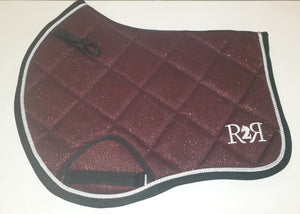 CLEARANCE PRICE! Burgundy Glitter Size PONY