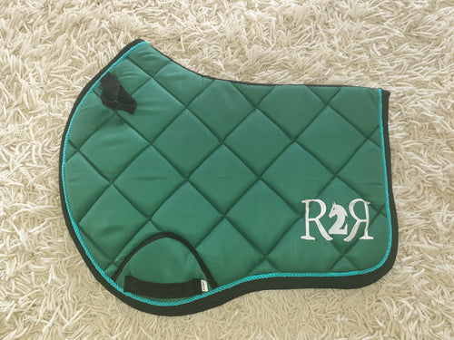 CLEARANCE PRICE! Green Saddle Pad Size PONY