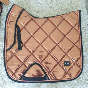 CLEARANCE SALE! DRESSAGE Saddle Pad COPPER