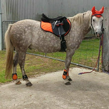 Load image into Gallery viewer, Saddle Pad Set with Boots ORANGE