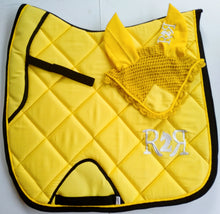 Load image into Gallery viewer, DRESSAGE Saddle Pad YELLOW