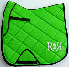 Load image into Gallery viewer, DRESSAGE Saddle Pad LIME GREEN