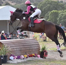 Load image into Gallery viewer, Saddle Pad + Bonnet PINK