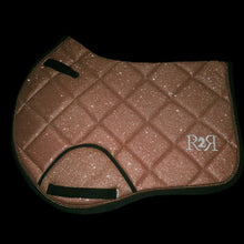 Load image into Gallery viewer, Saddle Pad SULTAN GOLD GLITTER