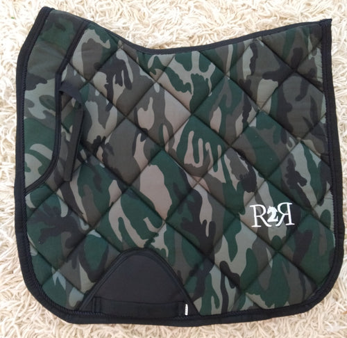 DRESSAGE Saddle Pad CAMO