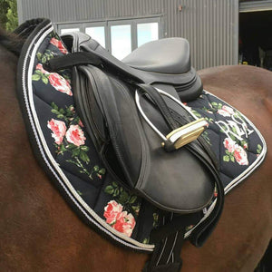 Saddle Pad FLORAL