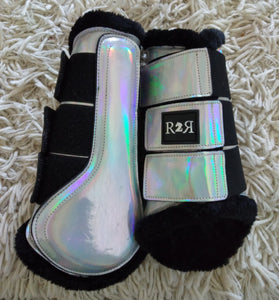 CLEARANCE SALE! Brushing Boots HOLO SIZE COB