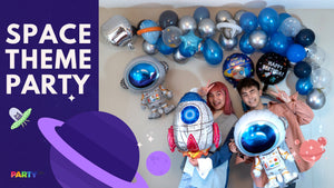 How to throw a unique space themed birthday party | Great inspiring blog