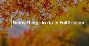 Funny Things to do in Fall Season