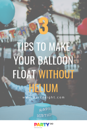 How to Make Balloon Float Without Using Helium?