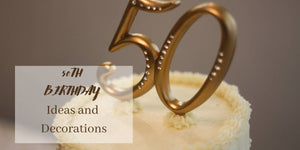 The Best Golden 50th Birthday Decorations