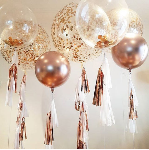 Rose gold, balloon, party balloon, party decoration,birthday decoration