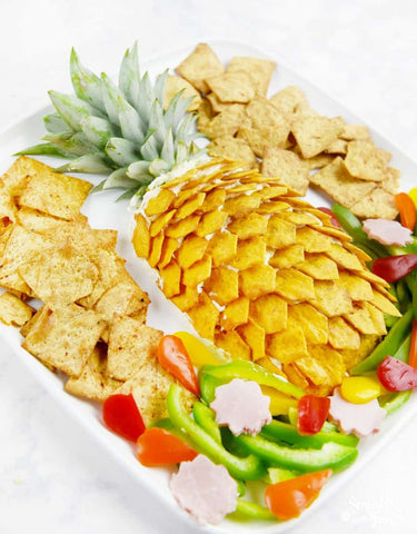 Pineapple Cheese Platter