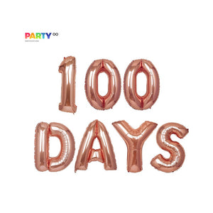 """100th Days"" Balloon 