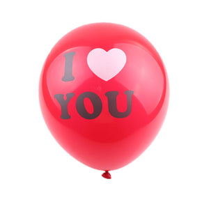 "A red letter balloon with ""I love you"", perfect for Valentine's day decoration and proposal decoration, as well as girlfriend/boyfriends' birthday."