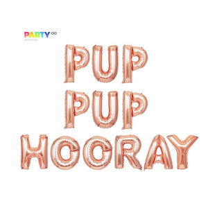 Pup Pup Hooray Balloon Banner