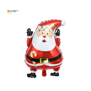 Santa Balloons | Christmas Party Decorations