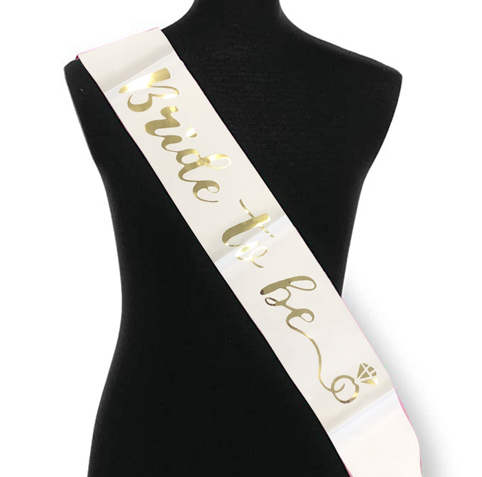 Bride To Be Sash | Bachelorette Party Decoration Party Accessory