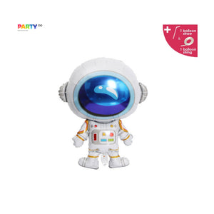 Astronaut Foil Balloon | Spaceman Outer Space Party | Blast Off Birthday | Boy's Birthday Party | To the moon and back | Space Themed Party