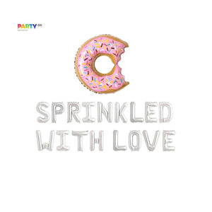 """Sprinkled with love"" Balloon 
