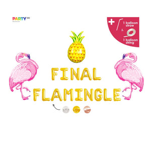 """Final Flamingle"" Balloons 