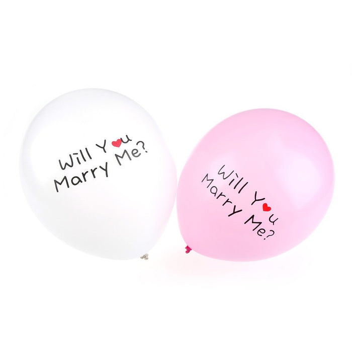 Will You Marry Me Latex Balloon
