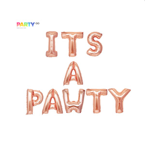 Its a Pawty Balloon Banner