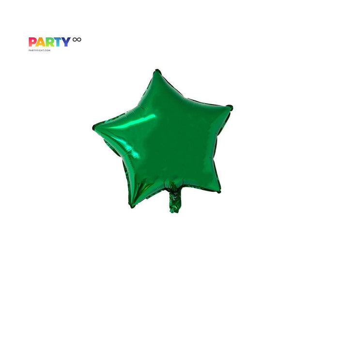 Green Star Balloon | St. Patricks Day