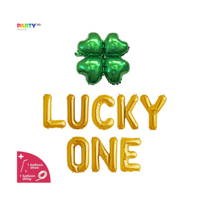 """Lucky One"" Balloon Banner 