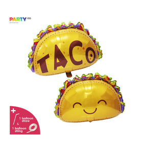 Taco Party Balloon | Fiesta Decor | Taco Party Decorations | Fiesta Party Decor | Cinco de Mayo