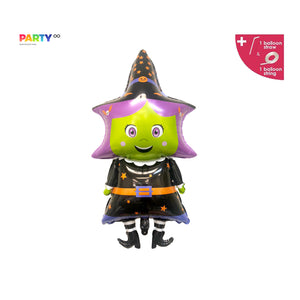 Witch Balloon | Halloween Party Balloons Decorations | Halloween Party Decor | Halloween Party Balloons Decorations