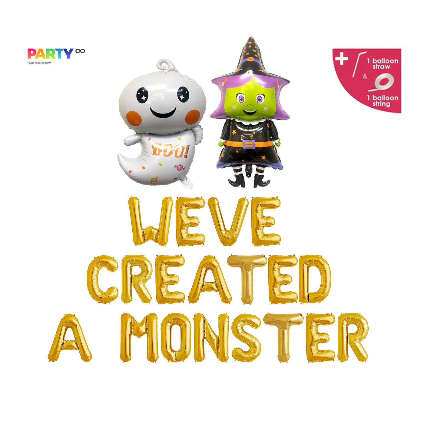 We 39 Ve Created A Monster Balloons Halloween Themed Baby Shower De Partyeight