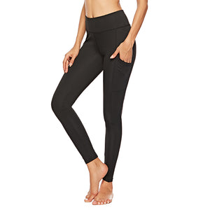 Y-0007 black yoga leggings