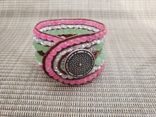 Load image into Gallery viewer, Watermelon Leather Bracelet-BD-650-003